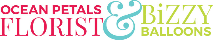 Ocean Petals & Balloons Logo